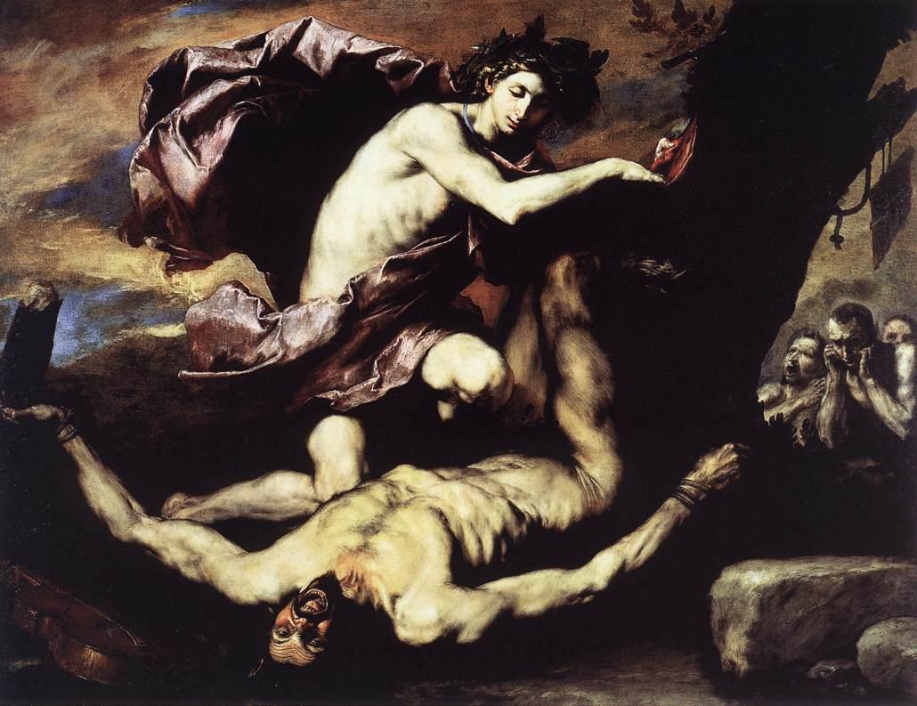 Apolo y Marsias de José de Ribera