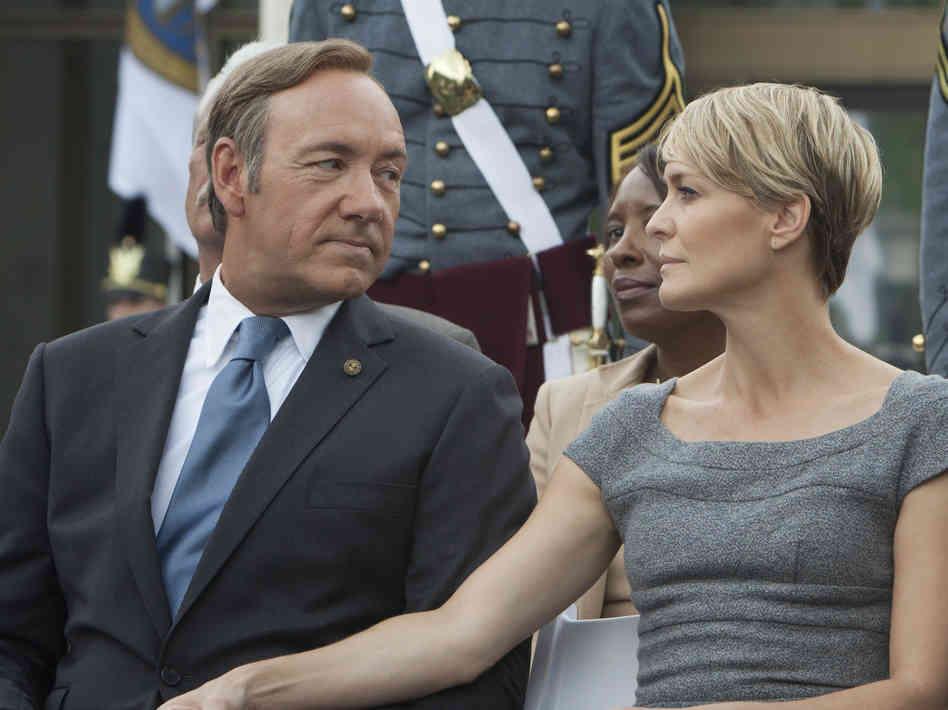 El matrimonio Underwood. Fran y Claire Underwood. (Foto: eluniversodemartina.com)