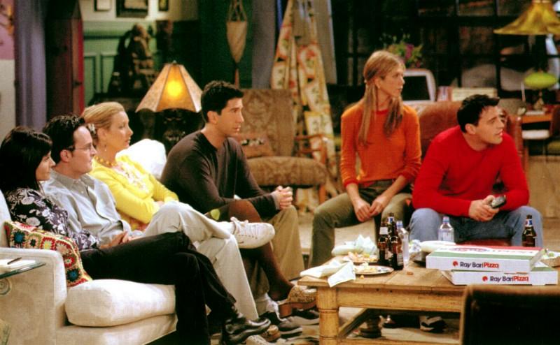 Los 5 protagonistas de Friends