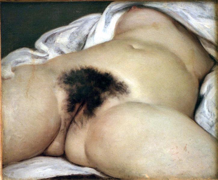 El origen del mundo. Gustave Courbet. (Foto: Wikipedia)