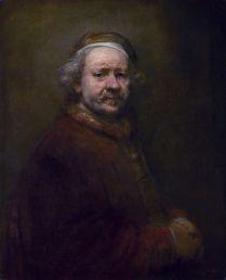 Rembrandt, 1669. Aquí aparece más joven que en retratos anteriores. (Foto: wikipedia.org)