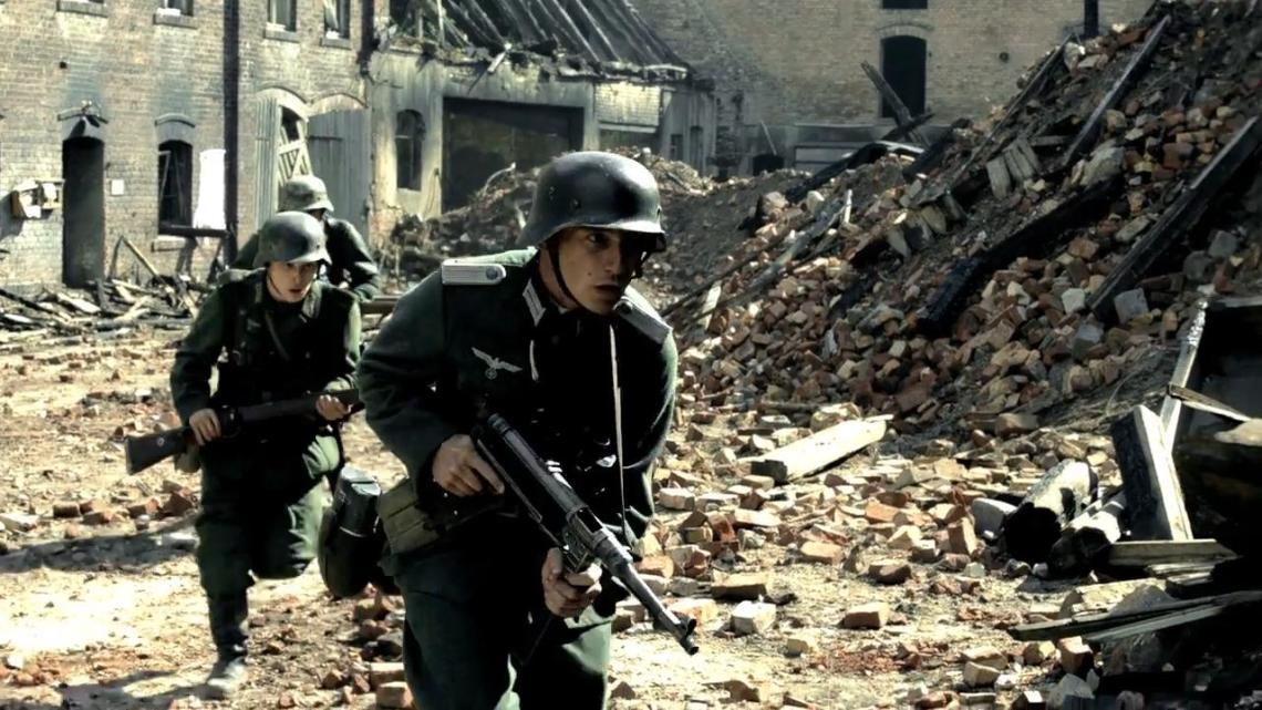 Fotograma de la serie bélica Hijos del Tercer Reich.