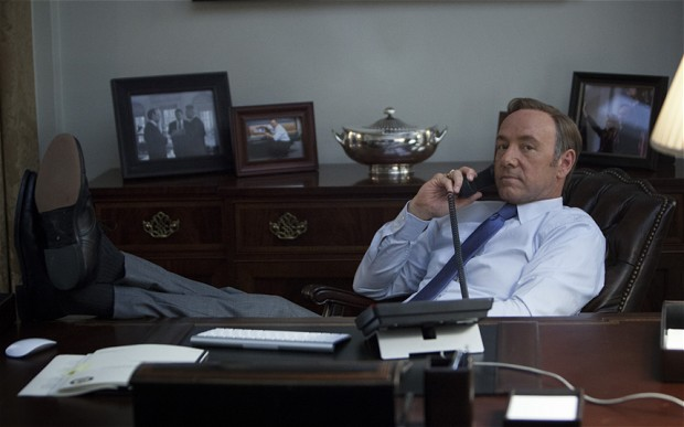 Frank Underwood (Kevin Spacey), protagonista de House of Cards