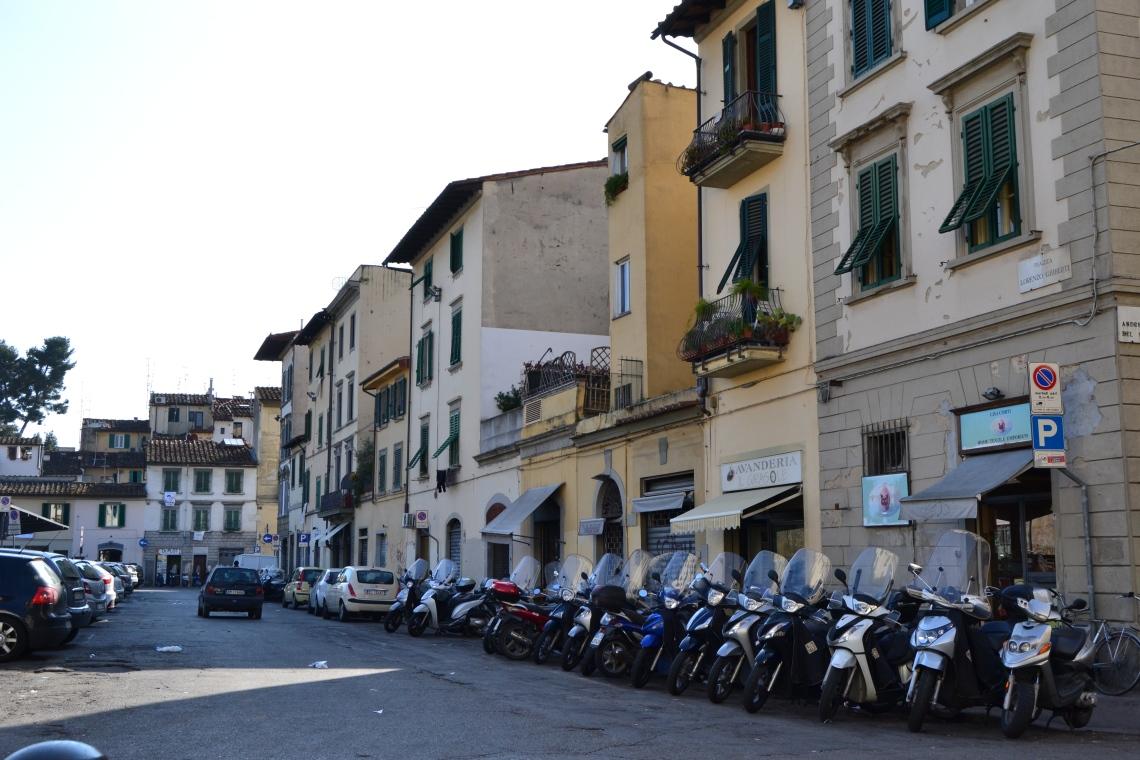 Piazza di Ghiberti, al lado del Mercato di Santo Ambrogio. (Foto: Darío Losada).