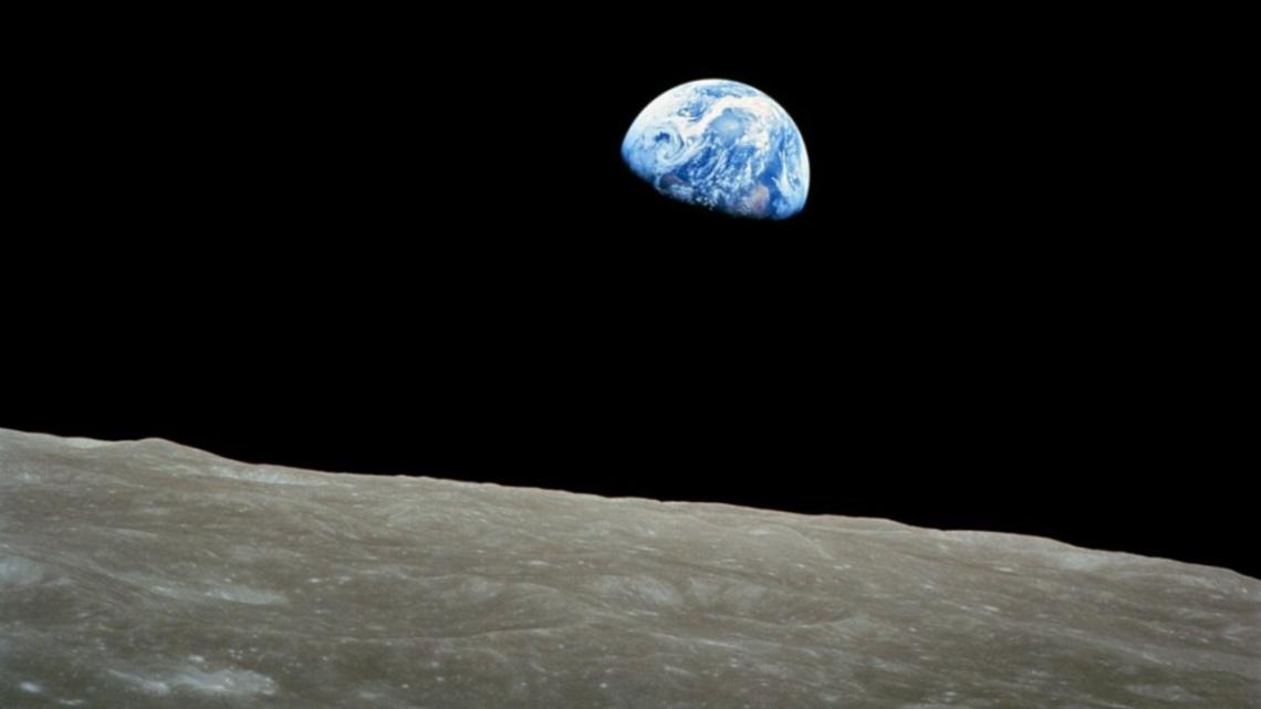 El Nacer de La Tierra, 1968. William Anders