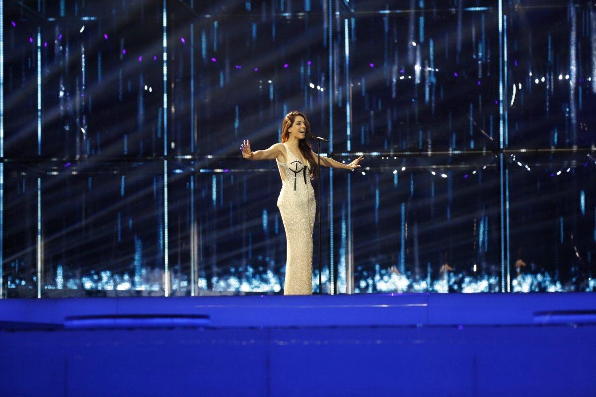 Ruth Lorenzo, representando a España.