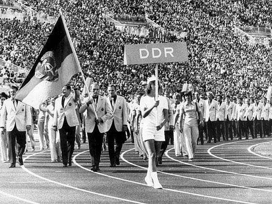 Delegación Olímpica de la RDA en los JJOO de 1972 en Múnich