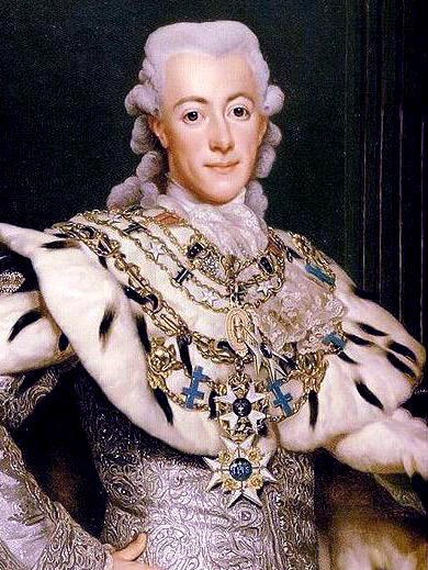 Gustavo III de Suecia, retrato de Alexander Roslin. (Foto: wikipedia.org)