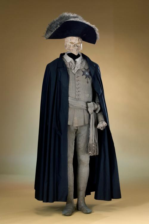 Disfraz de Gustavo III la noche de su atentado. (Foto: wikipedia.org)