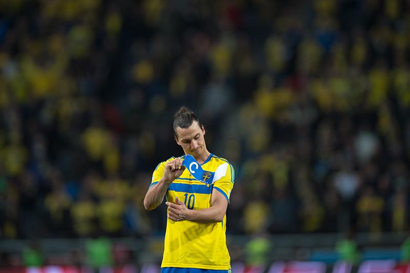 Zlatan Ibrahimović no estará en el Mundial de Brasil 2014. (Foto: flickr.com)