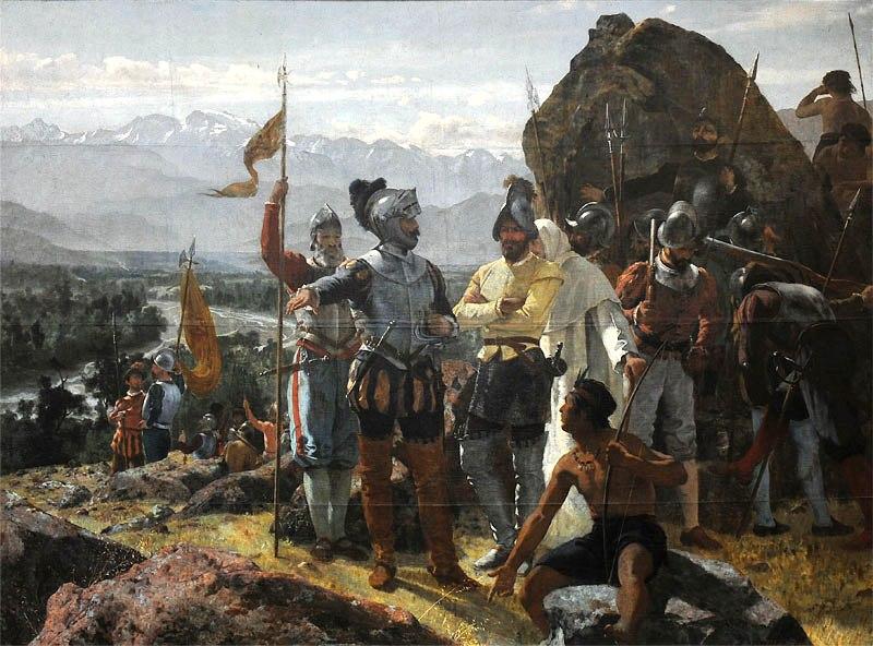<> (1889), óleo de Pedro Lira. Museo Nacional de Bellas Artes de Chile.