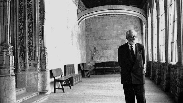 Unamuno en su Universidad. (Foto: abc.es)