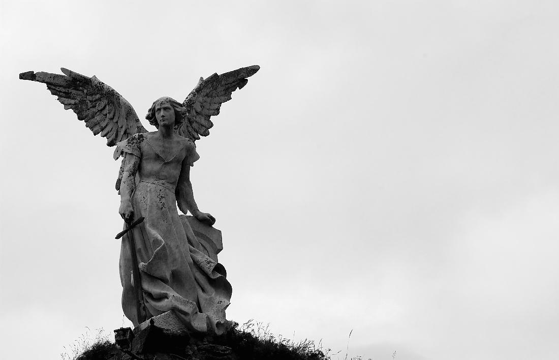 'El ángel exterminador', Josep Llimona. (Cantabria)