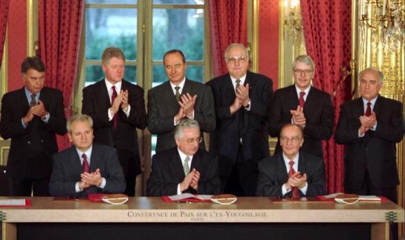 Los acuerdos de Dayton pusieron fin al conflicto