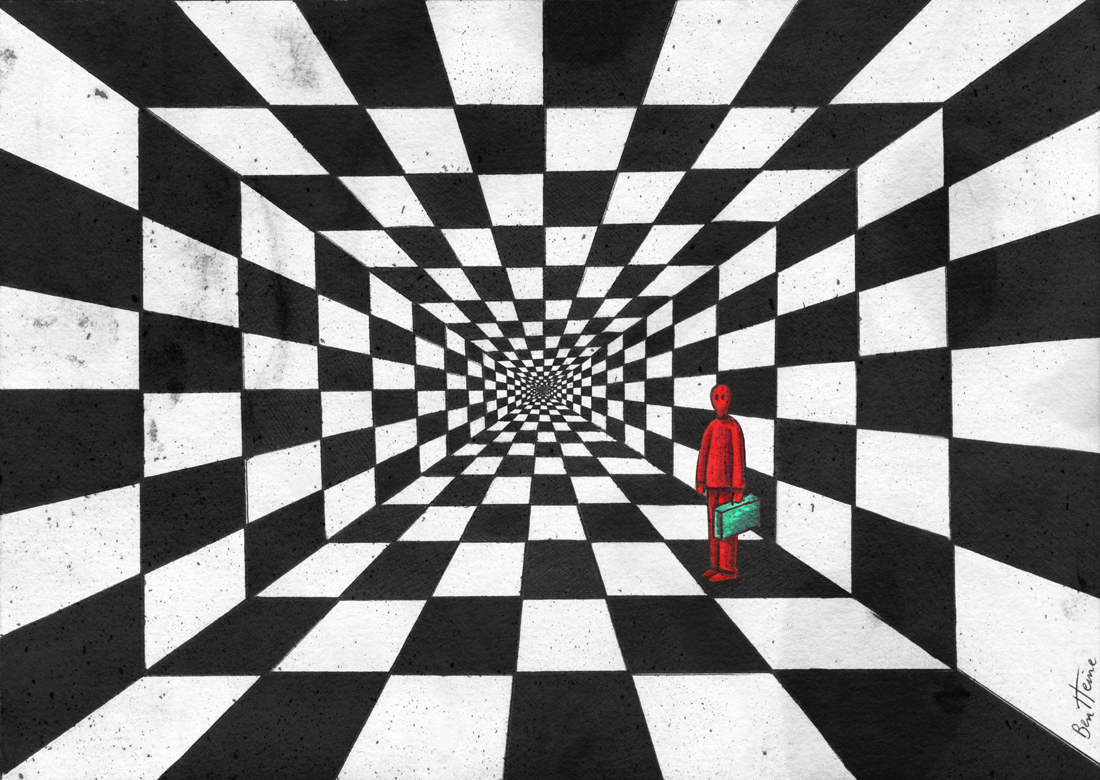 Chess Art 2, by BenHeine.