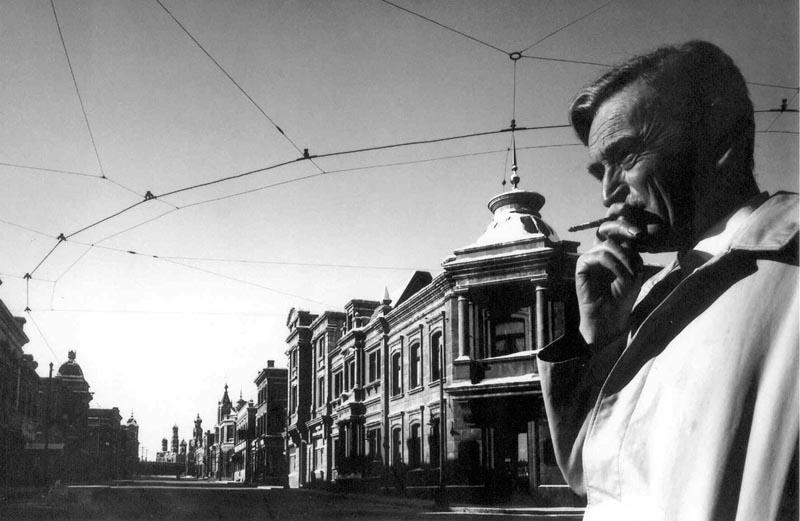 David Lean rodando en la Rusia de Canillas. Foto El País