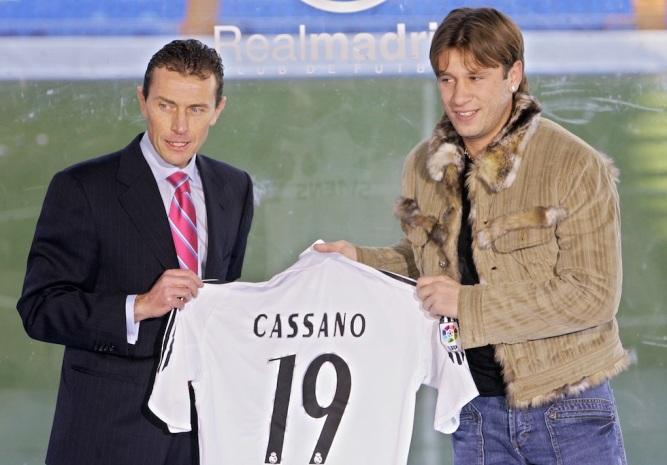 """Antonio """"Talentino"""" Cassano, flor de invierno. Como el autor. (Foto:benditofutbol.com)"""