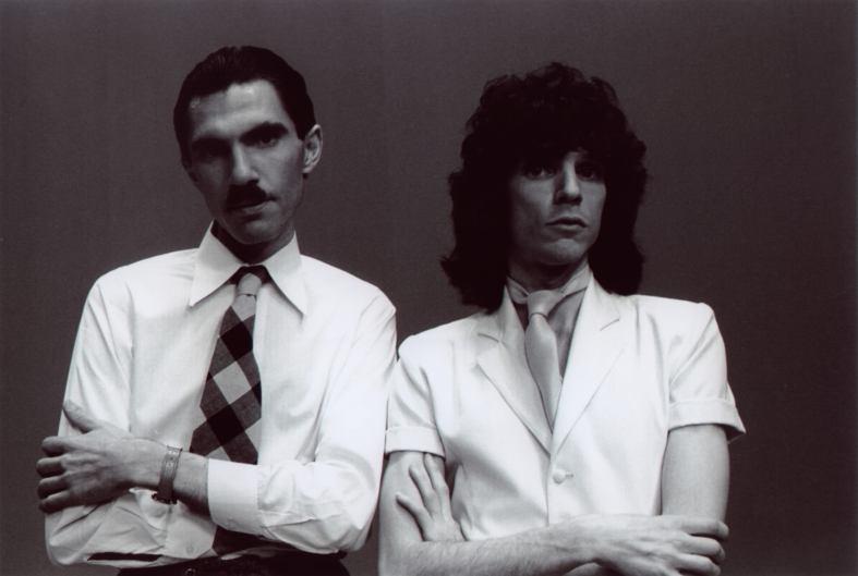 Los hermanos Ron y Russell Mael, integrantes de Sparks.