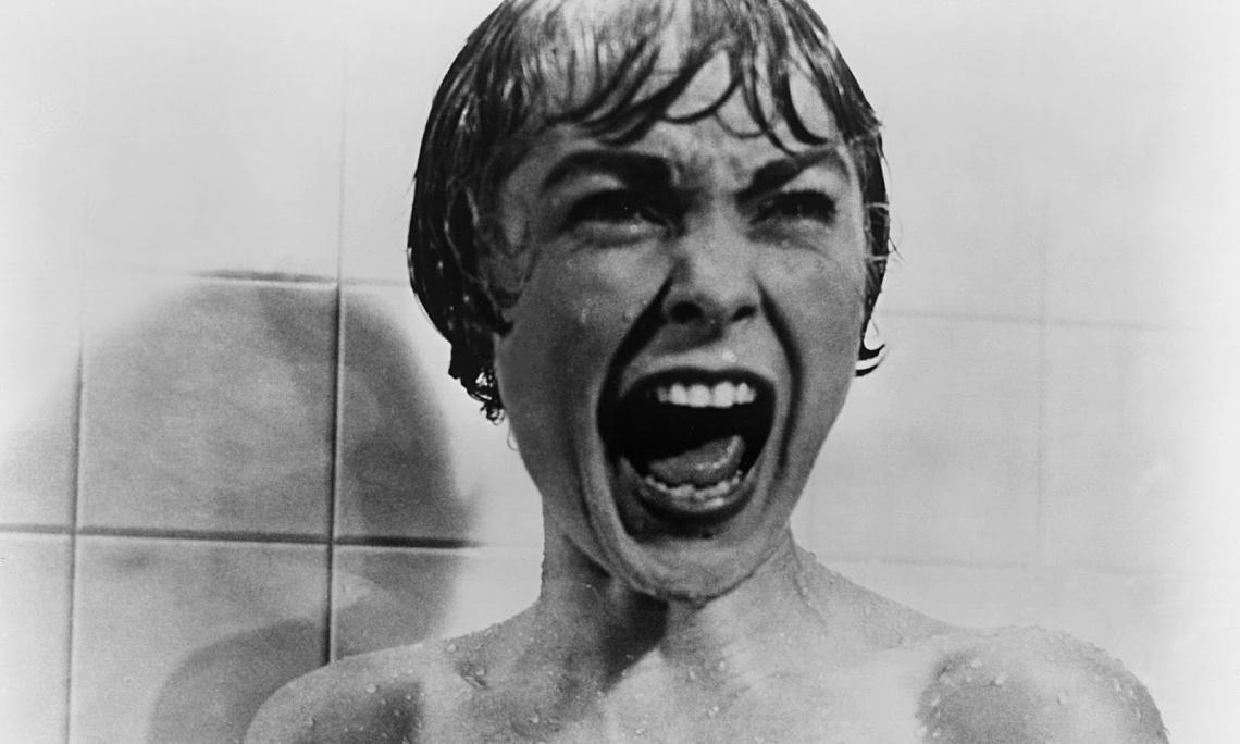Janet Leigh, en el fotograma más conocido de Psicosis (1960).