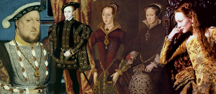 Enrique VIII, Eduardo VI, Jane Grey, María I y Cate Blanchett