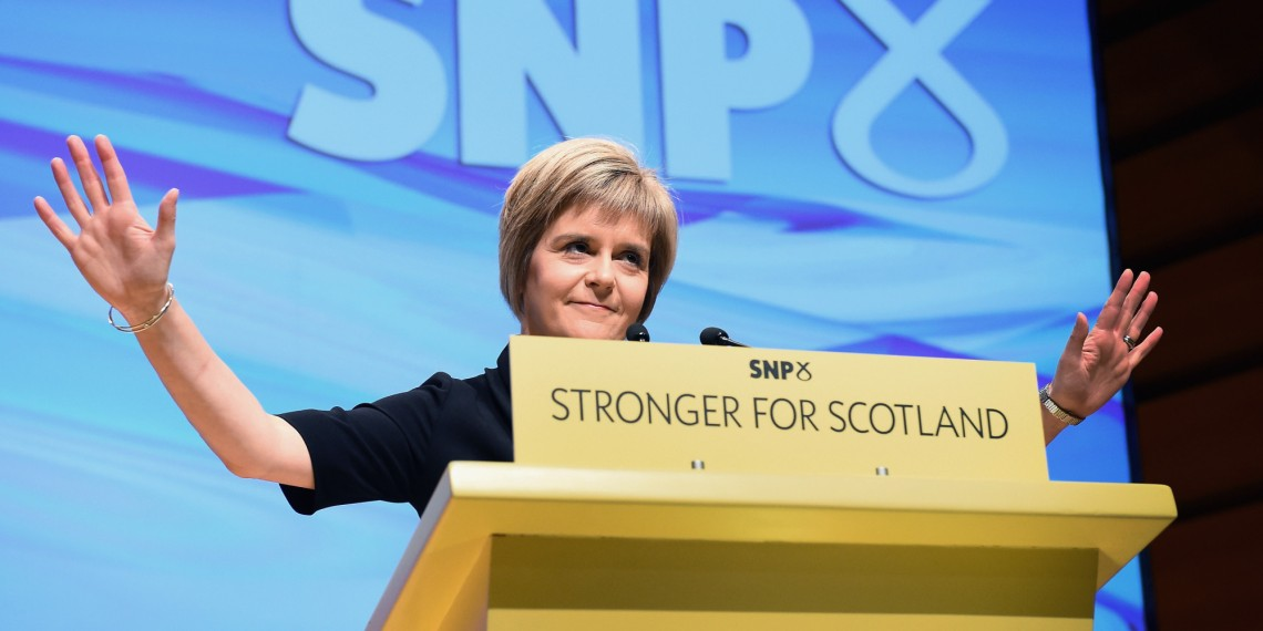 Nicola Sturgeon. (Foto: www.huffingtonpost.co.uk)