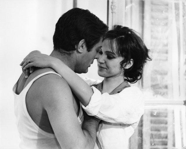 Anna Karina fue clave en la interpretación de Marcello Mastroianni.